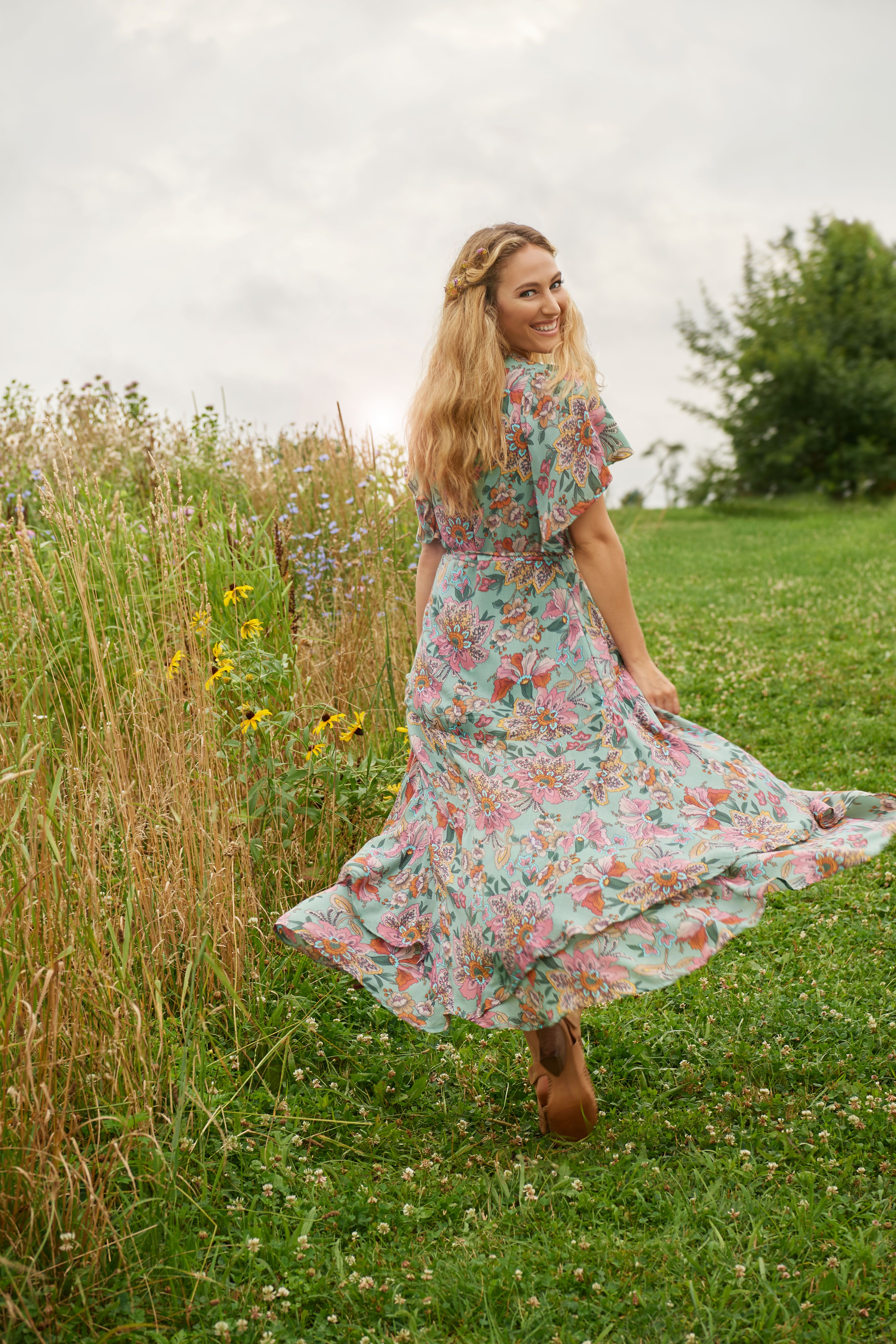 Haute Hippie Tribe Luna Wrap Maxi Dress Qvc Com Haute Hippie Maxi Wrap Dress Dresses [ 5408 x 3605 Pixel ]