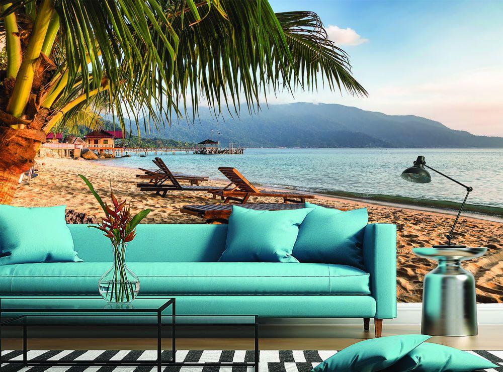 So nice way to relax... :) Pulau Tioman Beach Sand Malaysia Wall Mural Photo Wallpaper