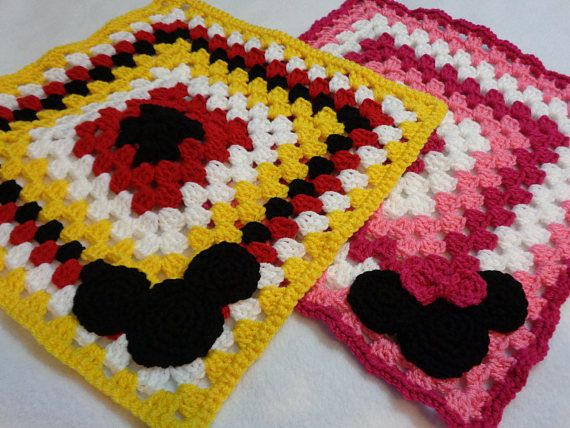 Mickey Mouse and Minnie Mouse Inspired Lovey, Gift from Grandma ...