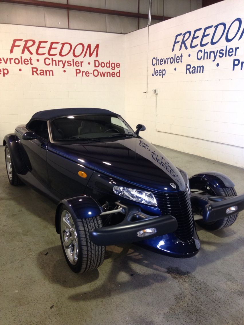 2001 Chrysler Prowler with less than 4000 miles never been