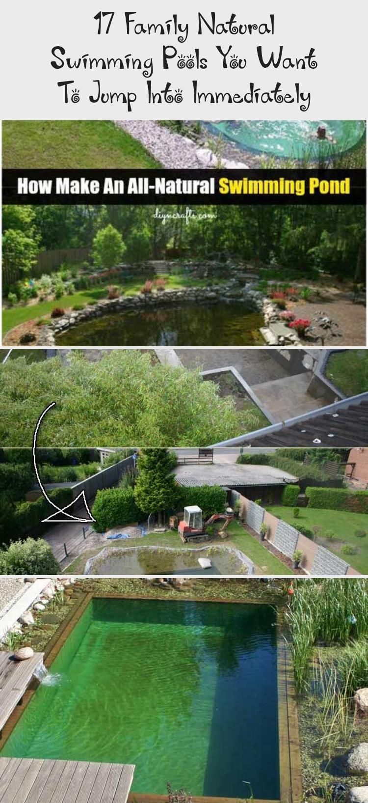 Photo of 17 Family Natural Swimming Pools You Want To Jump Into Immediately – DIY