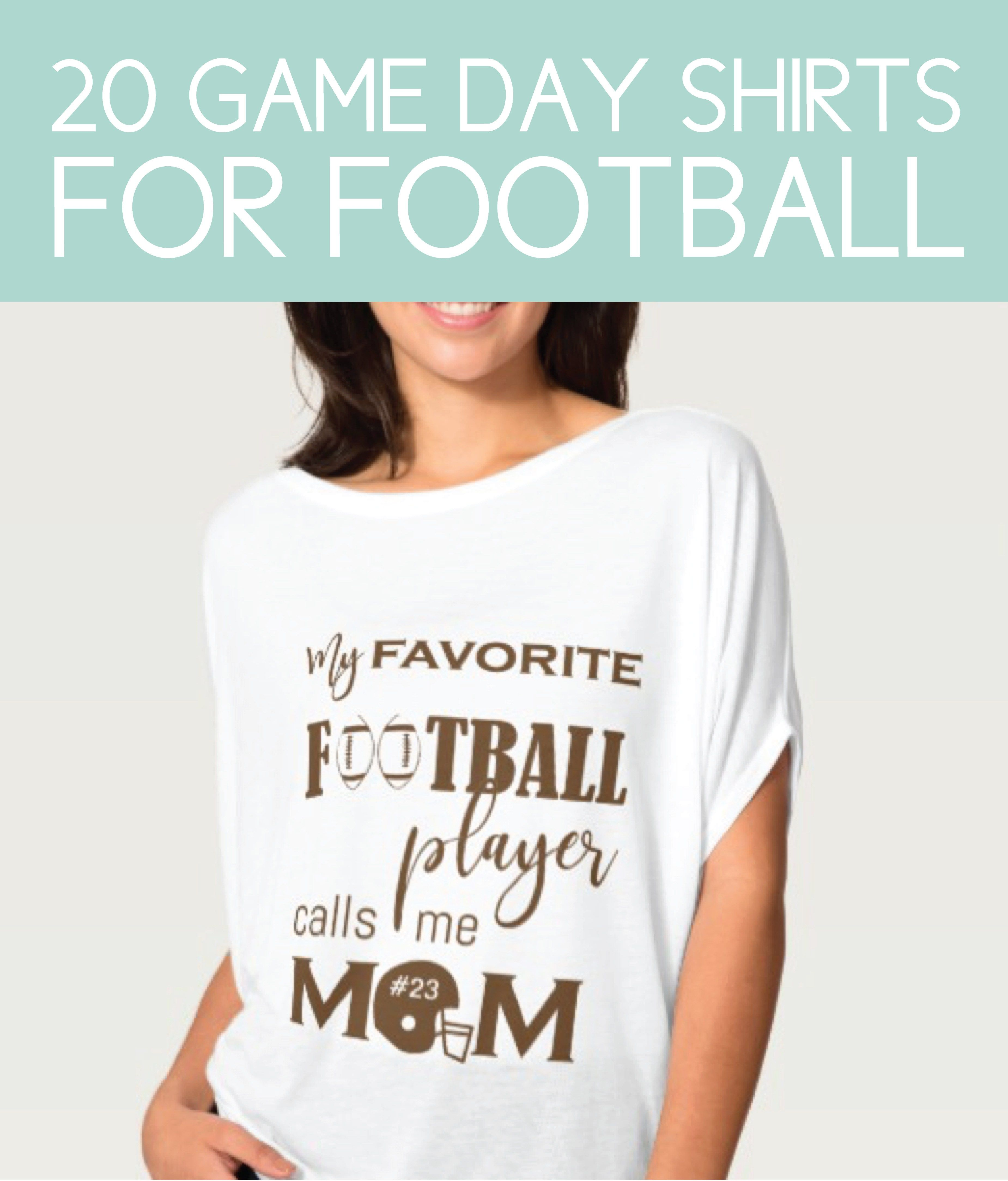 fbb2d8fe349406 Game Day Shirts. Football
