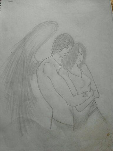 No se me recuerda a Patch y Nora el dibujo, aunque no me quedo muy bien proporcionado...