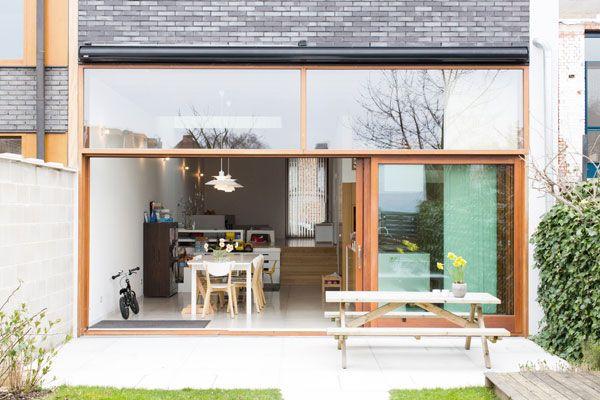 Niveauverschil In Huis : Raum arch rijwoning dmv niveauverschil straat tuin circulatie