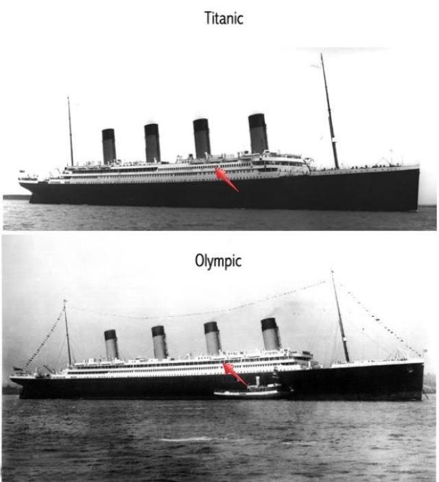 Rms Olympic: RMS Titanic Vs RMS Olympic