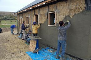 Strawbale Construction Straw Bale Construction Straw Bale Building Straw Bale House