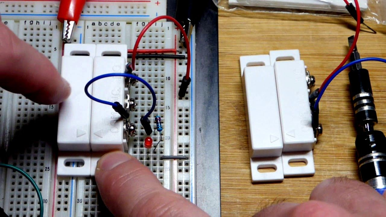 Switch sensor electronics component how to diy