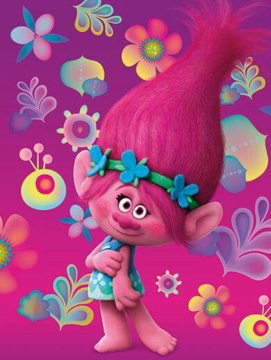 Trolls Holiday Poster >> Poppy!!!!!! | Trolls | Pinterest | Troll party, Trolls birthday party and Birthdays