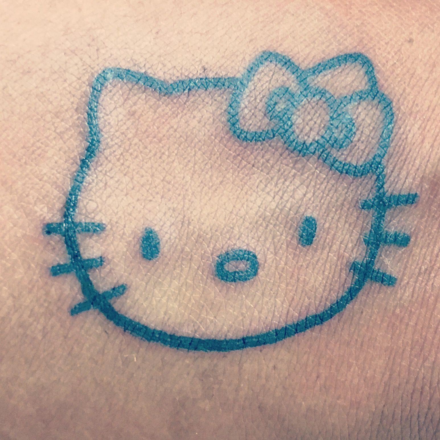 c11c5cf36 Thank you High Priestess! Love my Hello Kitty tattoo! :D | Ink ...