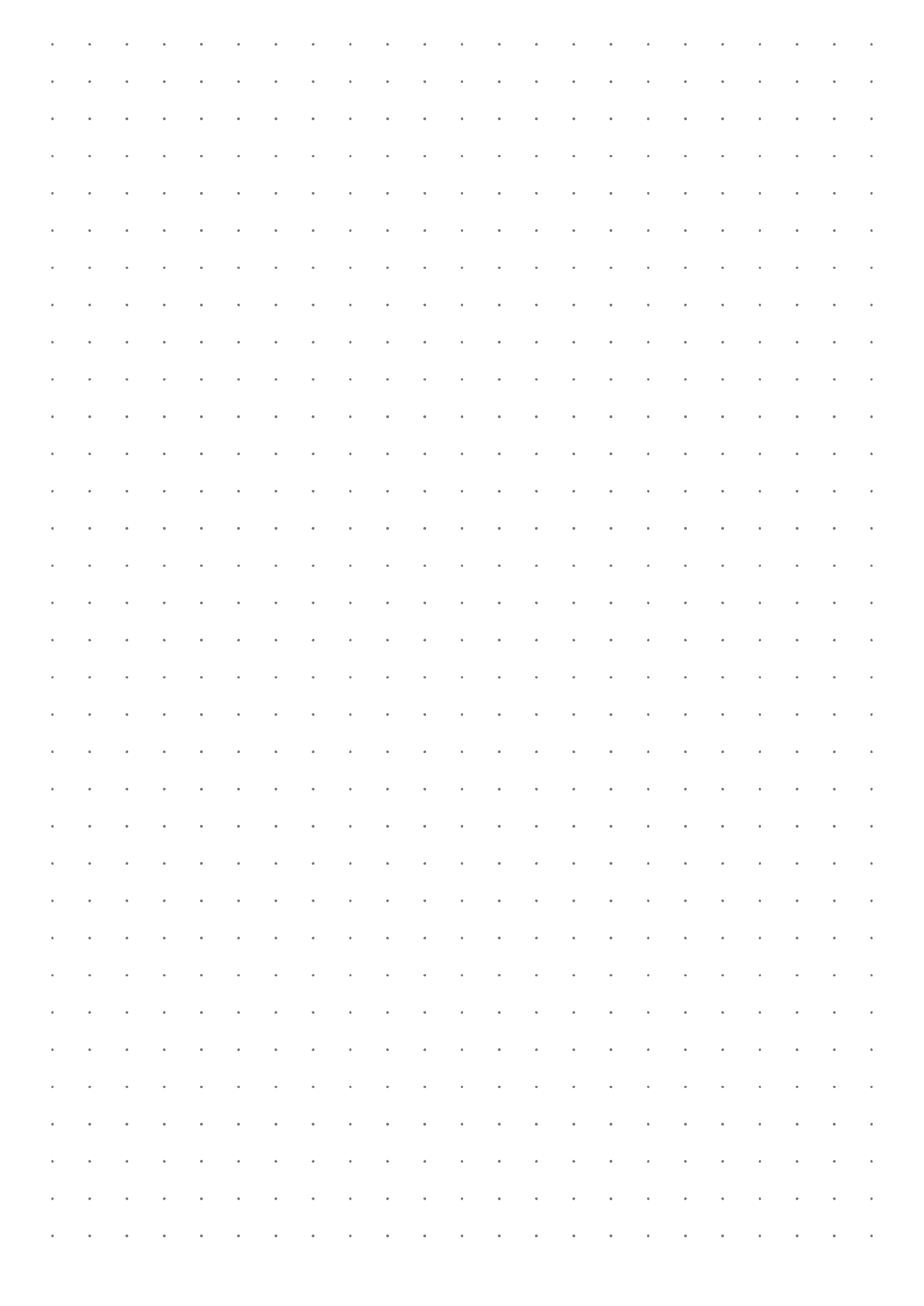 It is a graphic of Bullet Journal Paper Printable regarding dotted
