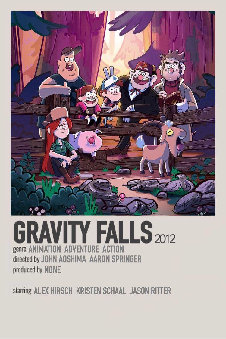 room wall art Gravity Falls Cartoon Movie Art metal tin sign