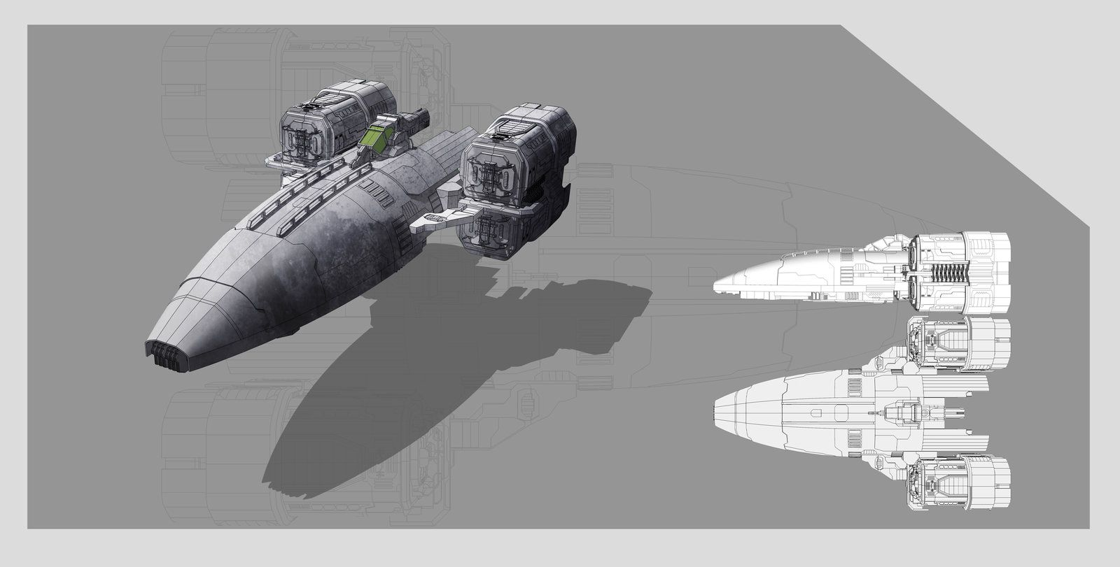 Spaceship concept by on deviantart ship of my dreams pinterest - Heating small spaces concept ...