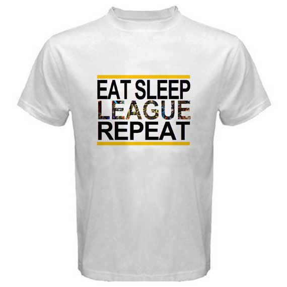 League of Legends Eat Sleep League Shirt by TheTshirtAuthority
