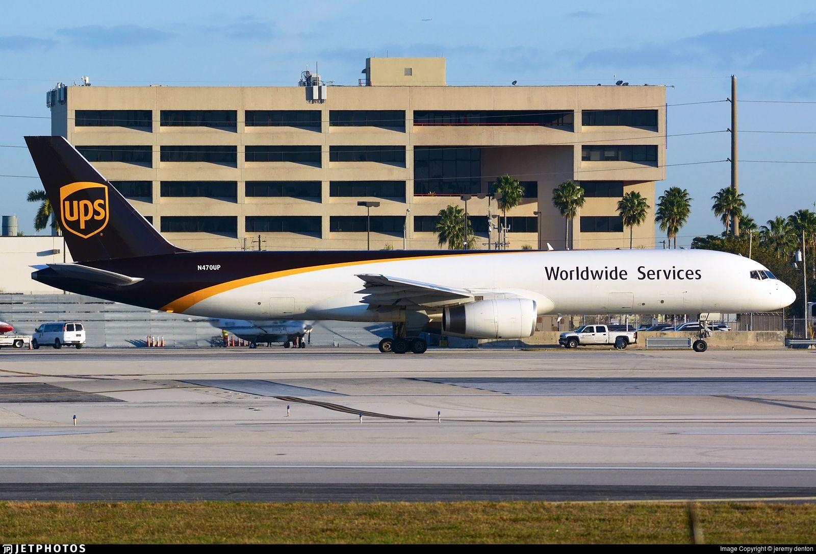 Airline United Parcel Services (UPS) Registration N470UP