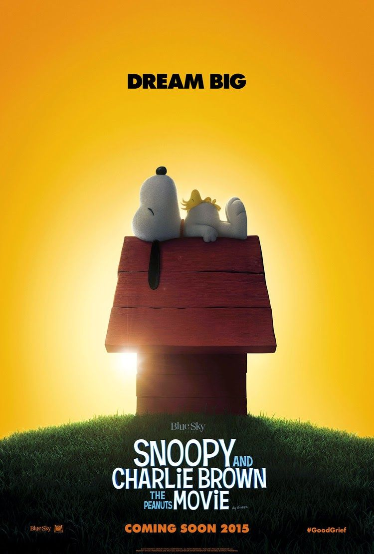 Poster revealed for Snoopy and Charlie Brown: The Peanuts Movie