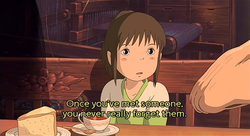 Spirited Away Quotes Fascinating Spirited Away Quotesquotesgramquotesgram  Words Pinterest