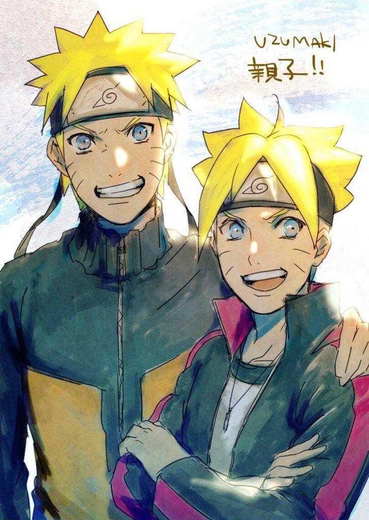 Boruto & Sarada   BoruSara   Naruto   VK