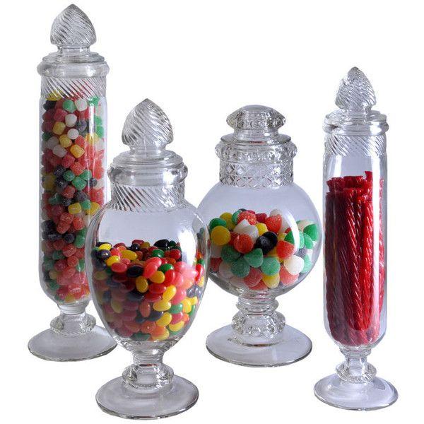 Pariscope Design Antique Candy Jars