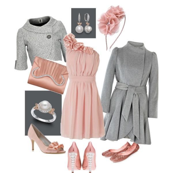 Winter wedding guest by mrs sorensen on polyvore for Dresses for winter wedding guest