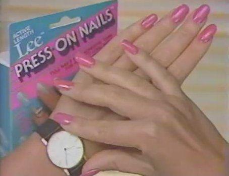 Lee Press On Nails 80s Lee Press On Nails Press On Nails Retro Nails