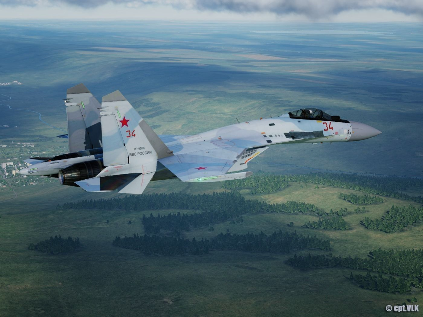 Military Aircraft — Su35S beauty in 2020 Military