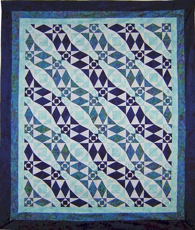 "Photo of Storm at Sea variation pattern by Quilting with Roxanne: ""My version of this tr… – Quilts 2"