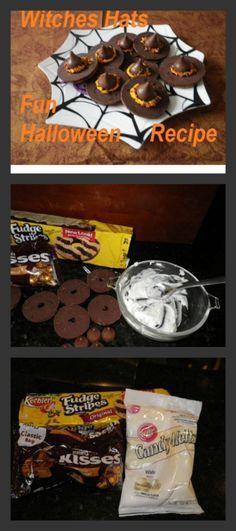 Witch Hat Cookies Check out these frugal homemade Halloween - halloween baked goods ideas