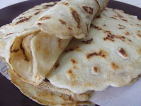 Cooking Gluten (& Dairy) Free: Grain Free Crepes / Tortillas