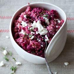 Quinoa-Roasted Beet Salad