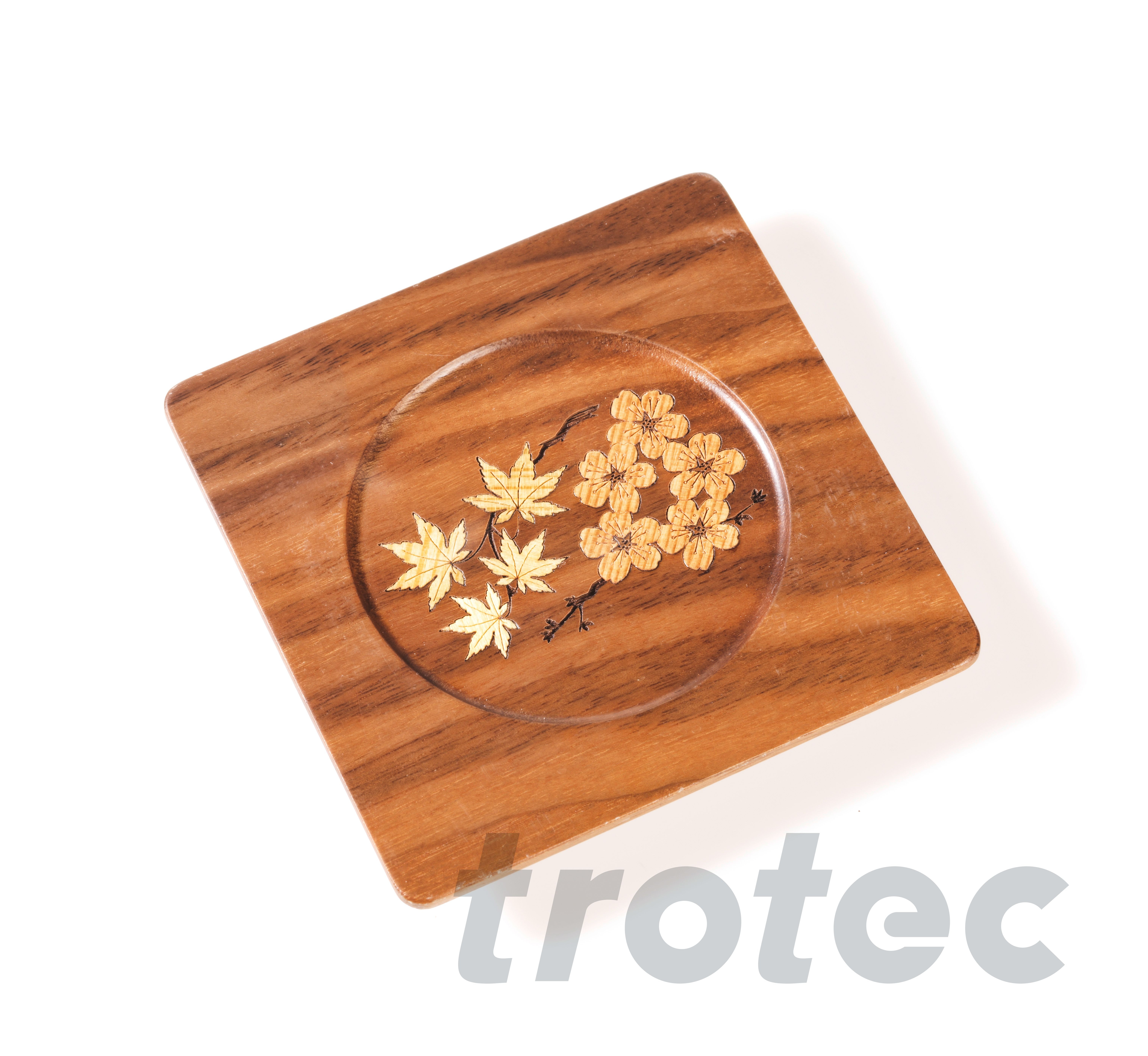 Dekoplatte Intarsie Aus Holz Holz Holz Beschriften Holzschussel