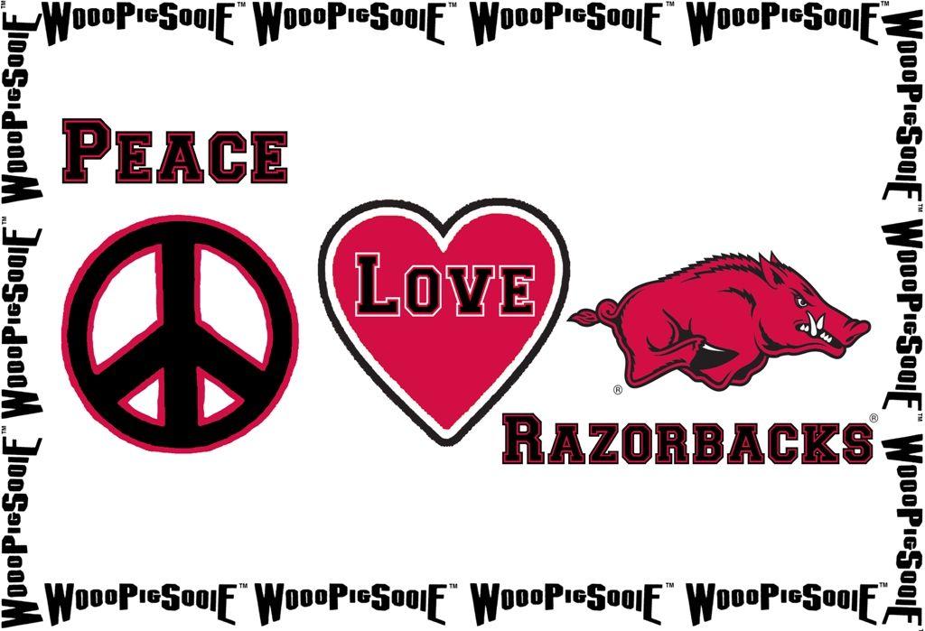 Peace, Love, & Razorbacks