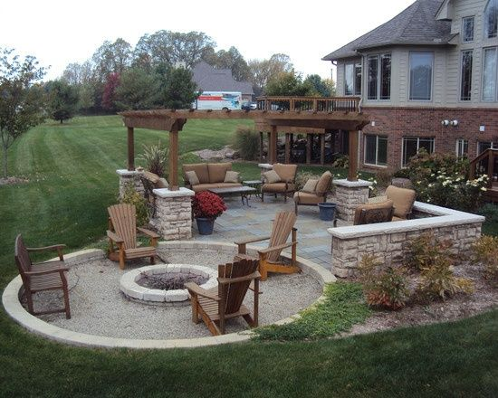 Backyard Fire Pit Designs   Google Search
