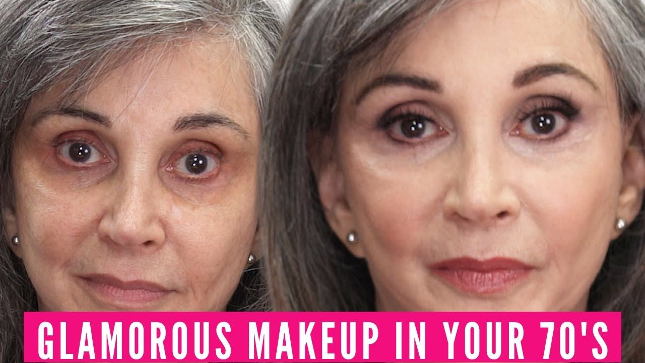 GLAMOROUS MAKEUP IN YOUR 70'S Nikol Johnson YouTube in
