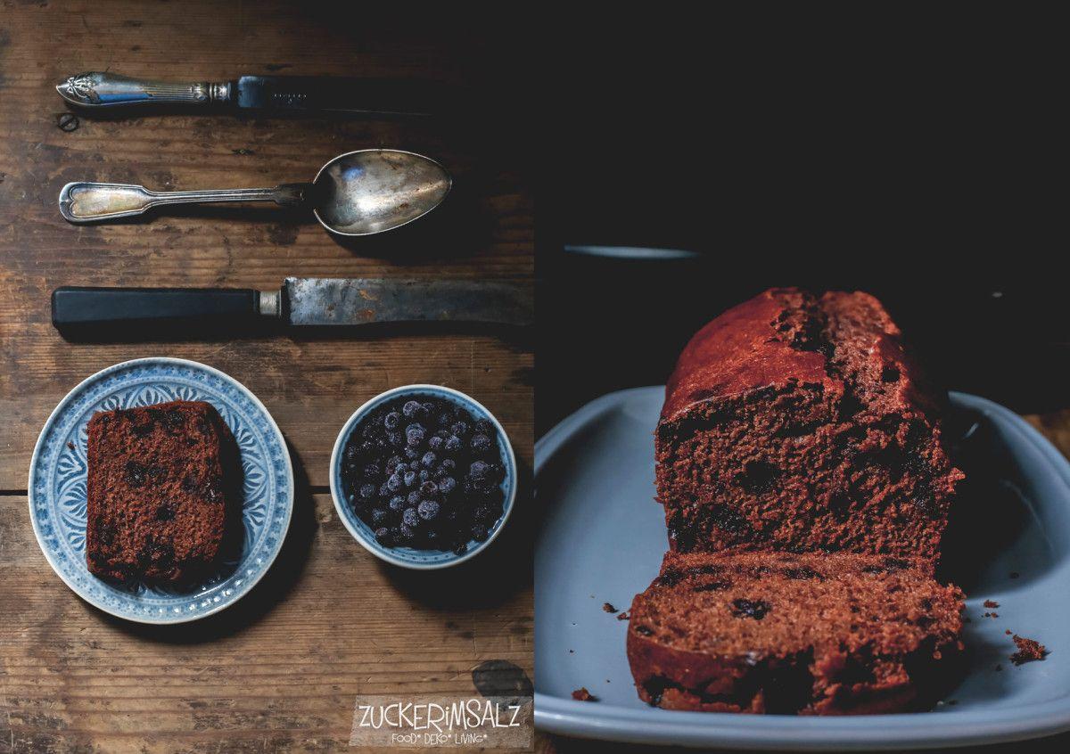 Der 5 Minuten Blueberry Schoko Cake Aus Dem Becher Runde Kuchen