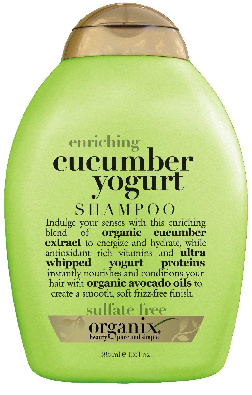 OGX Shampoo, Enriching Cucumber Yogurt Shampoo, Ogx hair