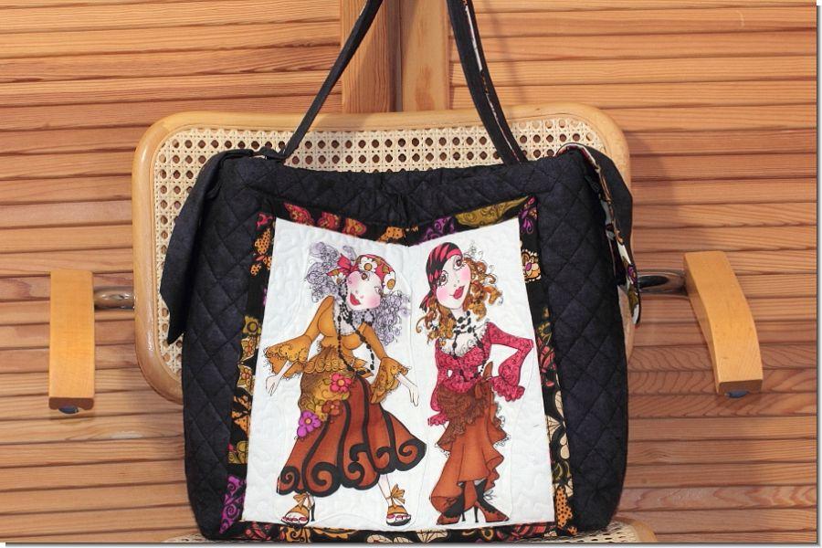Shopper Gypsy Chique 35 x 35 x10 cm