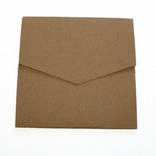 Pocketfold Invitations - Recycled Kraft & Envelopes, Blanks, DIY for weddings