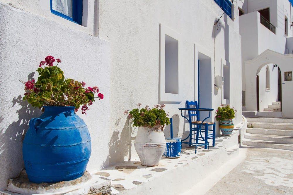 Griechenland: Auf der Insel Amorgos herrscht beschauliche Ruhe.