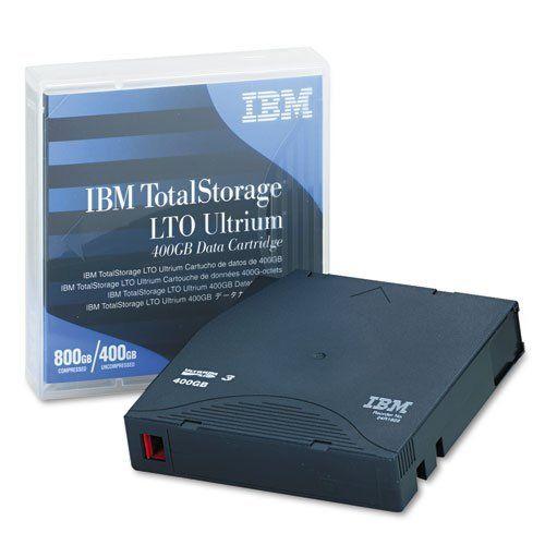 Ibm Ultrium Lto 3 Cartridge 400gb Slate Blue Case Sold As 1