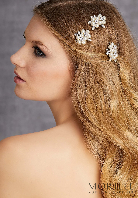morilee | madeline gardner, wedding headpiece style hp2030. set of