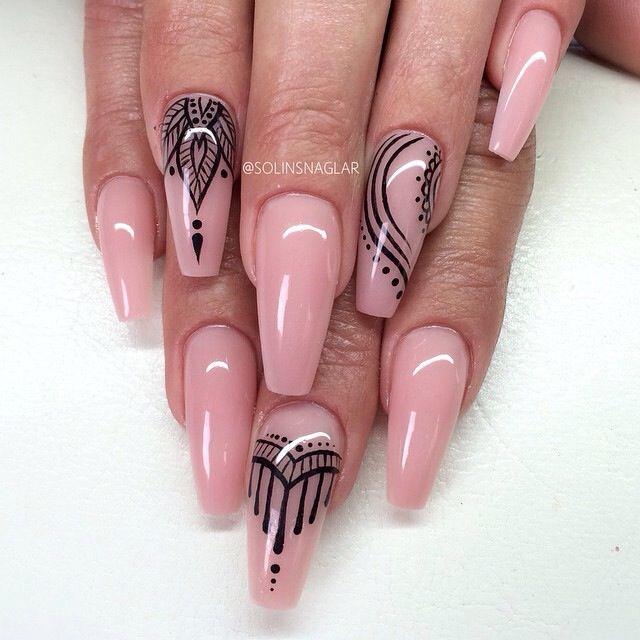 Pin by iulia miu on nails pinterest nail nail long red nails pink nails prinsesfo Gallery