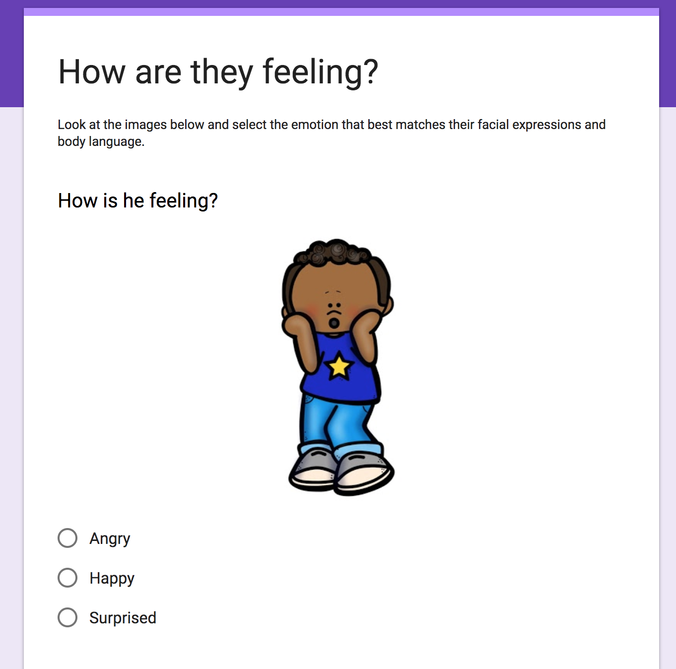 Practice Identifying Emotions With Slides