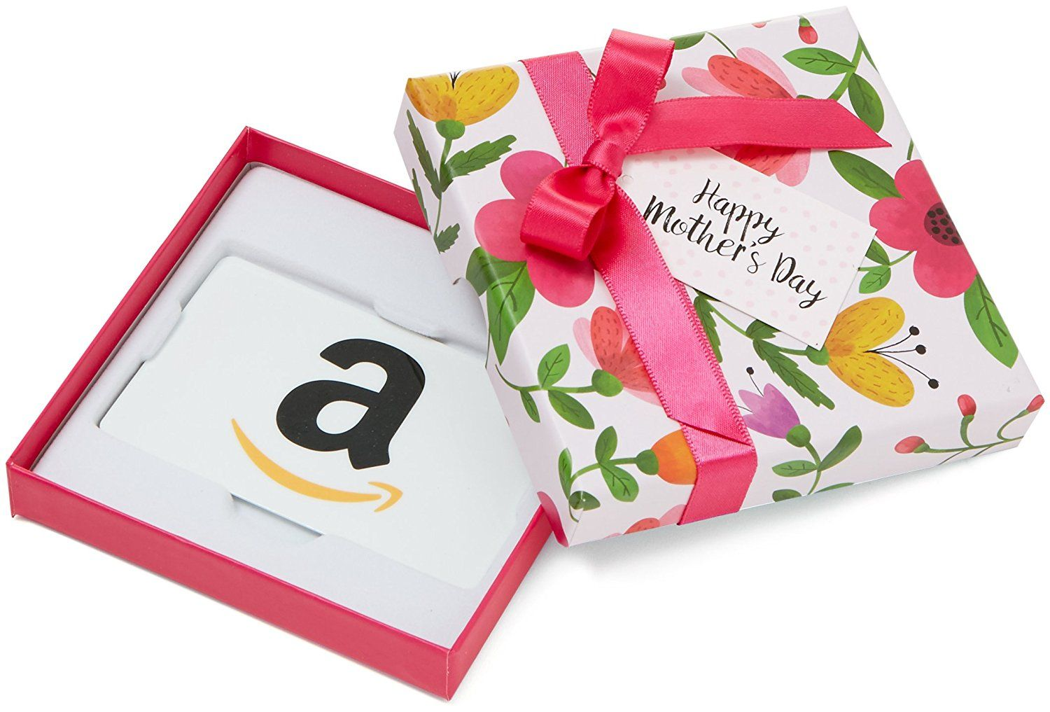 Gift card for any amount in a floral box for
