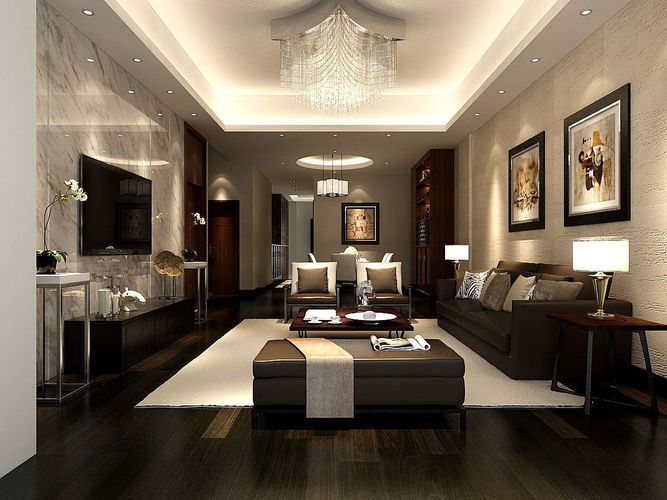 This Space Has All Three Types Of Lighting Luxury Living Room Family Room Design Drawing Room Interior