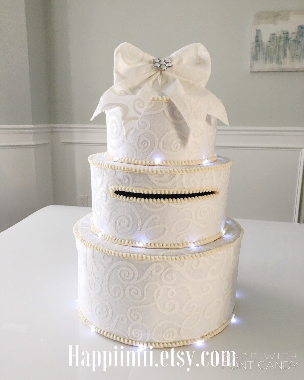 Wedding Gift Card Box Holder Money: Card Box Wedding Cake Ideas At Websimilar.org