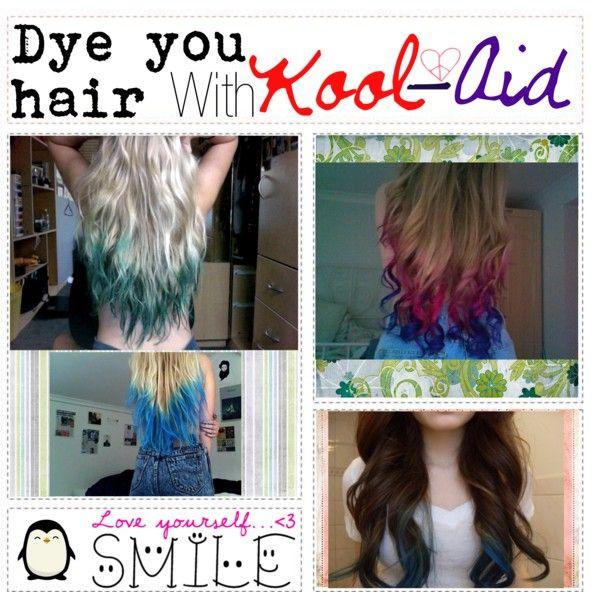 Kool-aid Hair Dyee :), created by polyvoretipgrrl