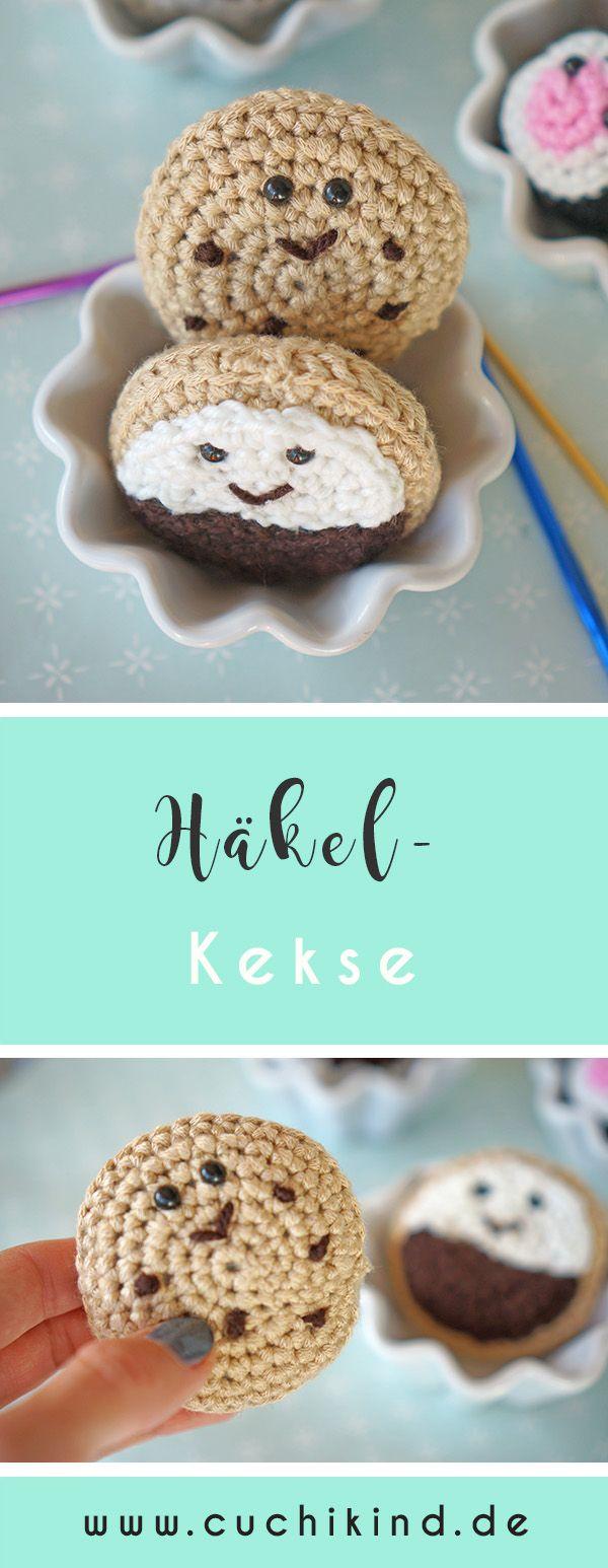 Häkel-Food #3: Kekse | Pinterest | Kinderküche, Kekse und Häkeln