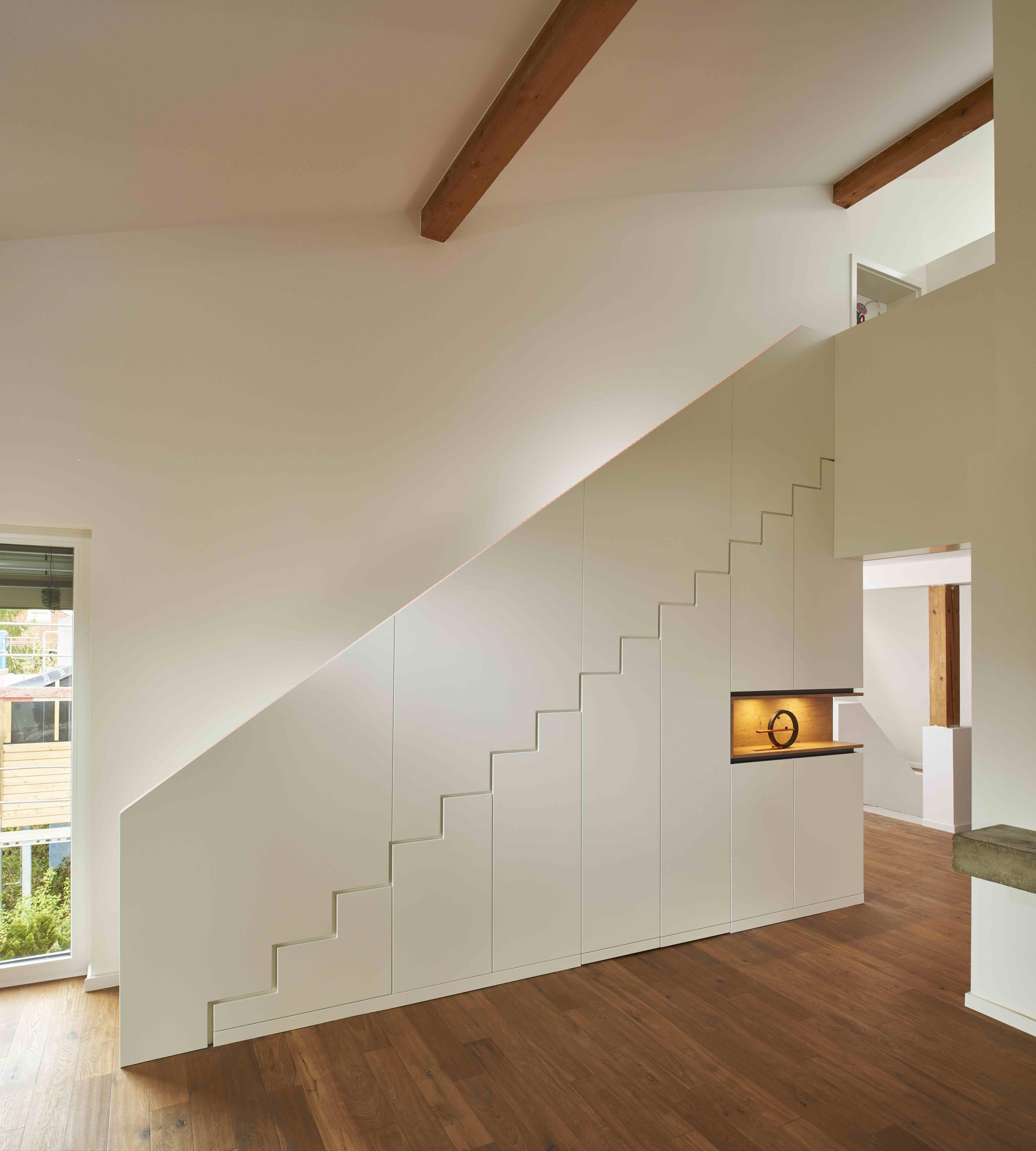 wohnzimmer treppe