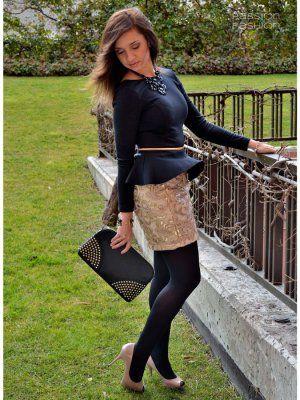 d5a3cf85e2 Vestirse · passionforfashionbynesha Outfit Invierno 2012. Combinar  Tacones-Plataformas Rosa suave Rosa palo Zara