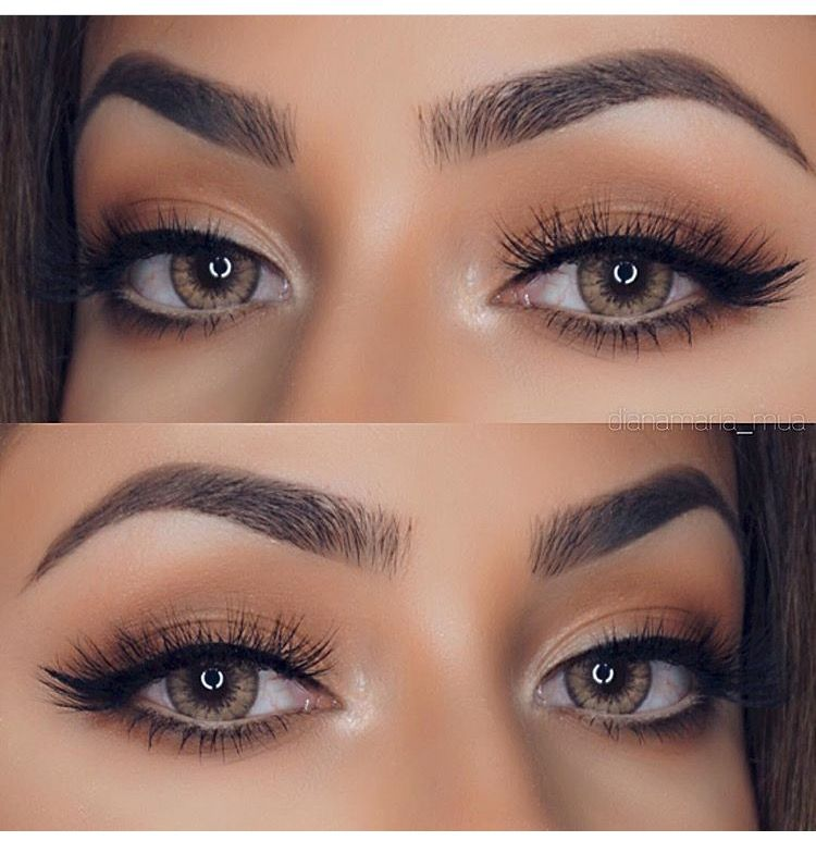 Eyebrow Perfection Hairmakeup Pinterest Colored Contacts